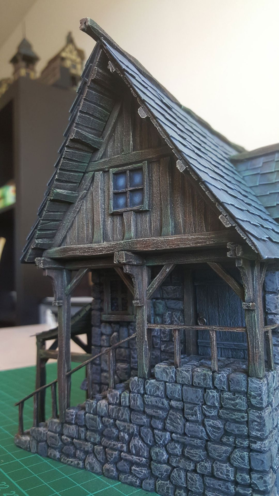 Medieval Blacksmith Forge - 28mm Building - Tabletop - Terrain