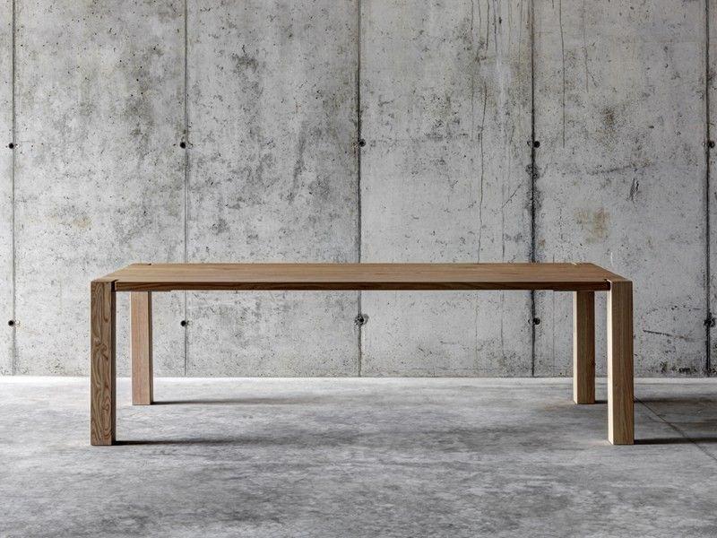 Fioroni Tisch Wf1 Designermobel Von Raum Form Holztisch Massivholztisch Tisch