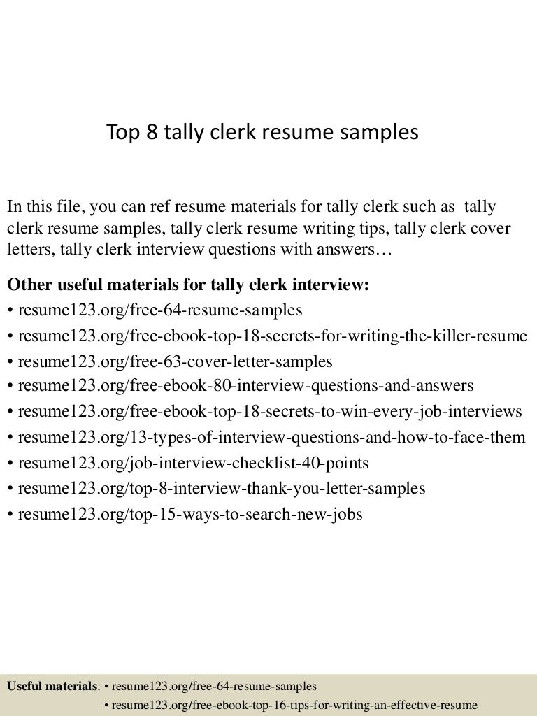 Resume Format For Tally Erp 9 Format Resume Tally Resume Format