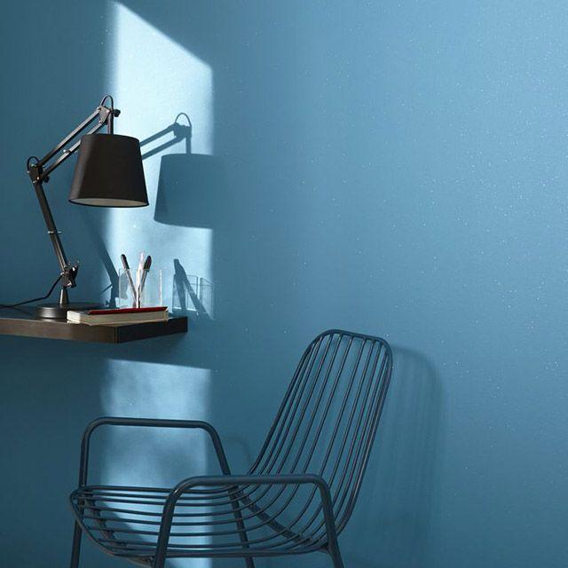 Peinture à Effet Paillettes Pétrole 2l Peinture Bleu