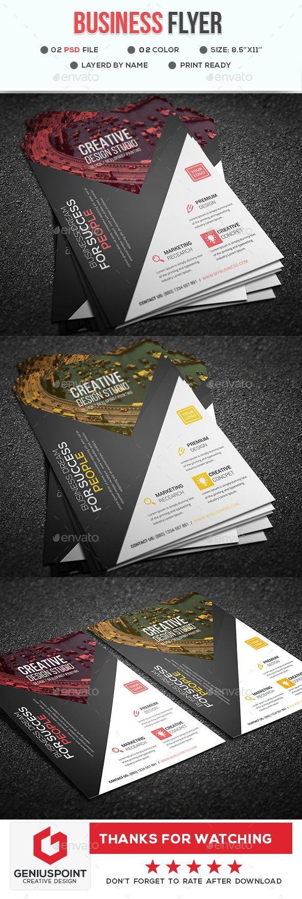 Business Flyer | Flyer printing, Business flyers and Print templates