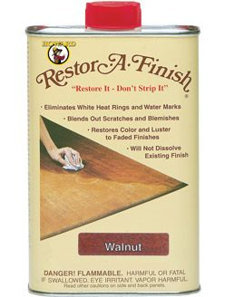 Howard S Restore A Finish Permanently Removes White Water Rings