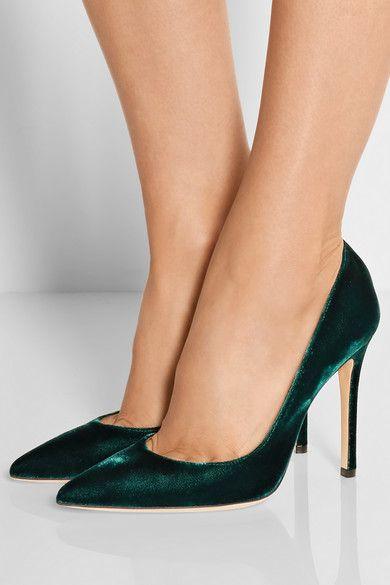 Gianvito Rossi - Velvet pumps. Formal ShoesShoe ...