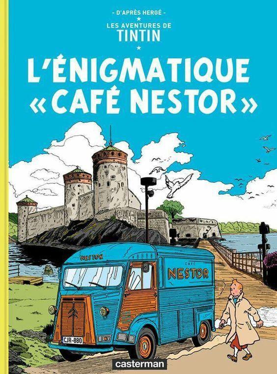 L Enigmatique Cafe Nestor Grafische Romans Stripfiguren Cover