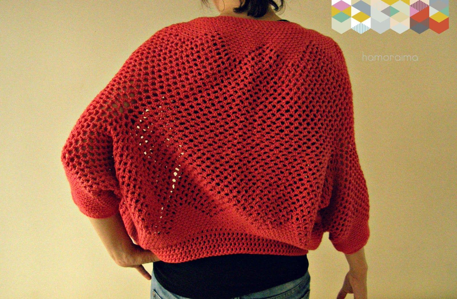 patrón chaqueta crochet | ▽ crochet • ganchillo ▽ | Pinterest ...