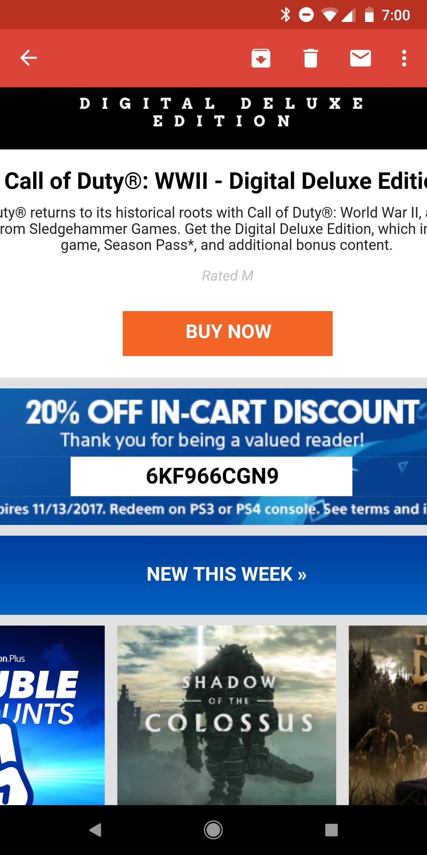Image] 20% <b>Discount code</b> #Playstation4 #<b>PS4</b> #Sony #videogames ...