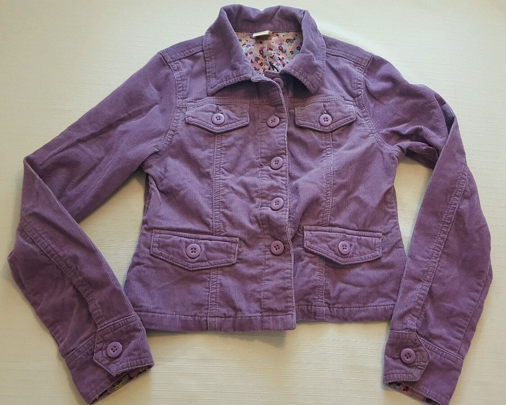 Girls Canyon River blues Purple Corduroy Blazer Jacket Size 12 #256 in Clothing, Shoes & Accessories, Kids' Clothing, Shoes & Accs, Girls' Clothing (Sizes 4 & Up)   eBay