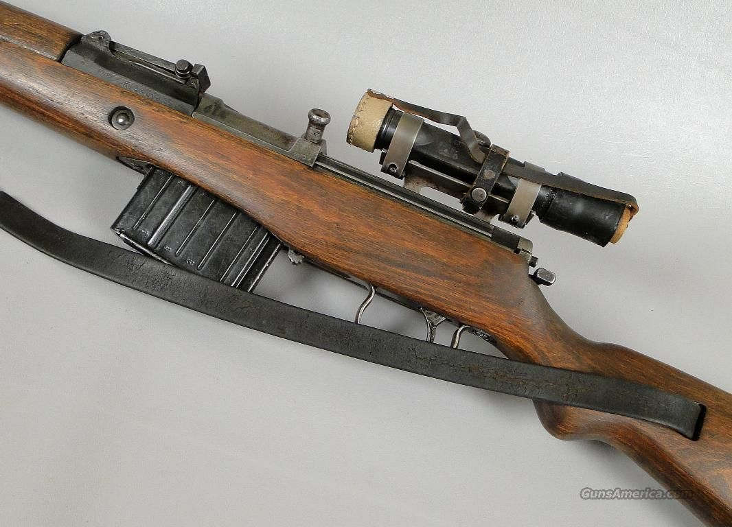 German G43 WWII K43 SNIPER RIFLE with Correct Scope in 8 X ... German Ww2 Weapons