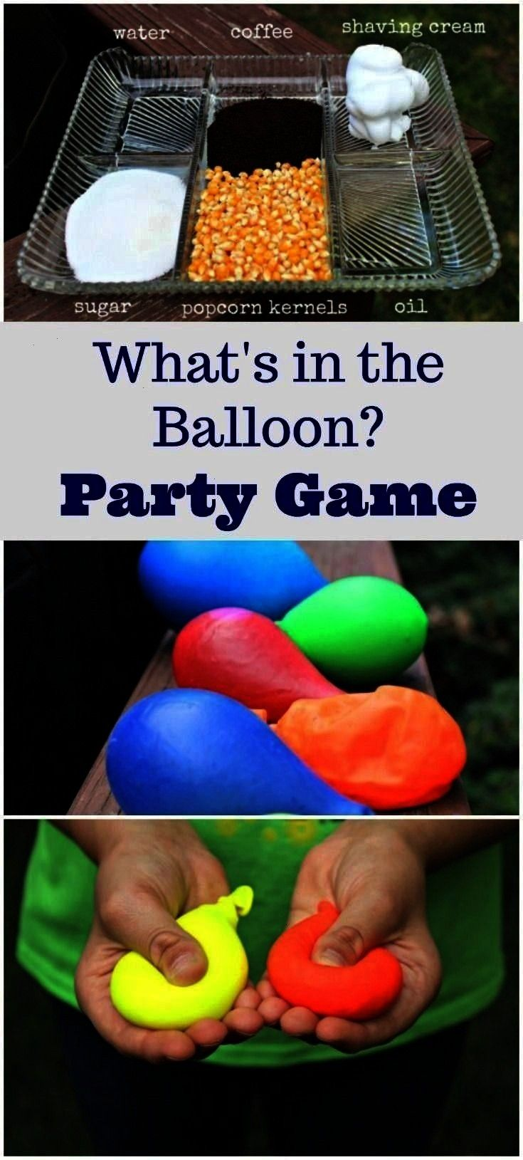Mystery Sensory Balloons  Informations About Party Games for Kids Mystery Sensory Balloons  Pin You can easily use my profile to examine different pin types Party Games f...