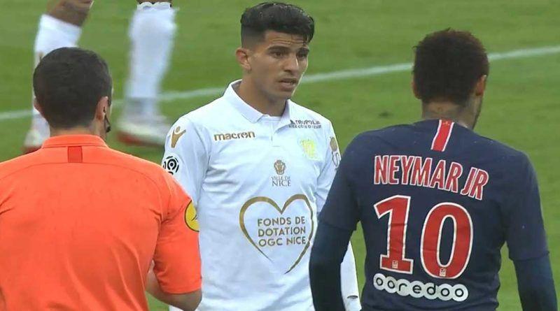 Le Show De Youcef Atal Lors Du Match Psg Nice 1 1 Video Algerie Football Football Algerie Foot Psg