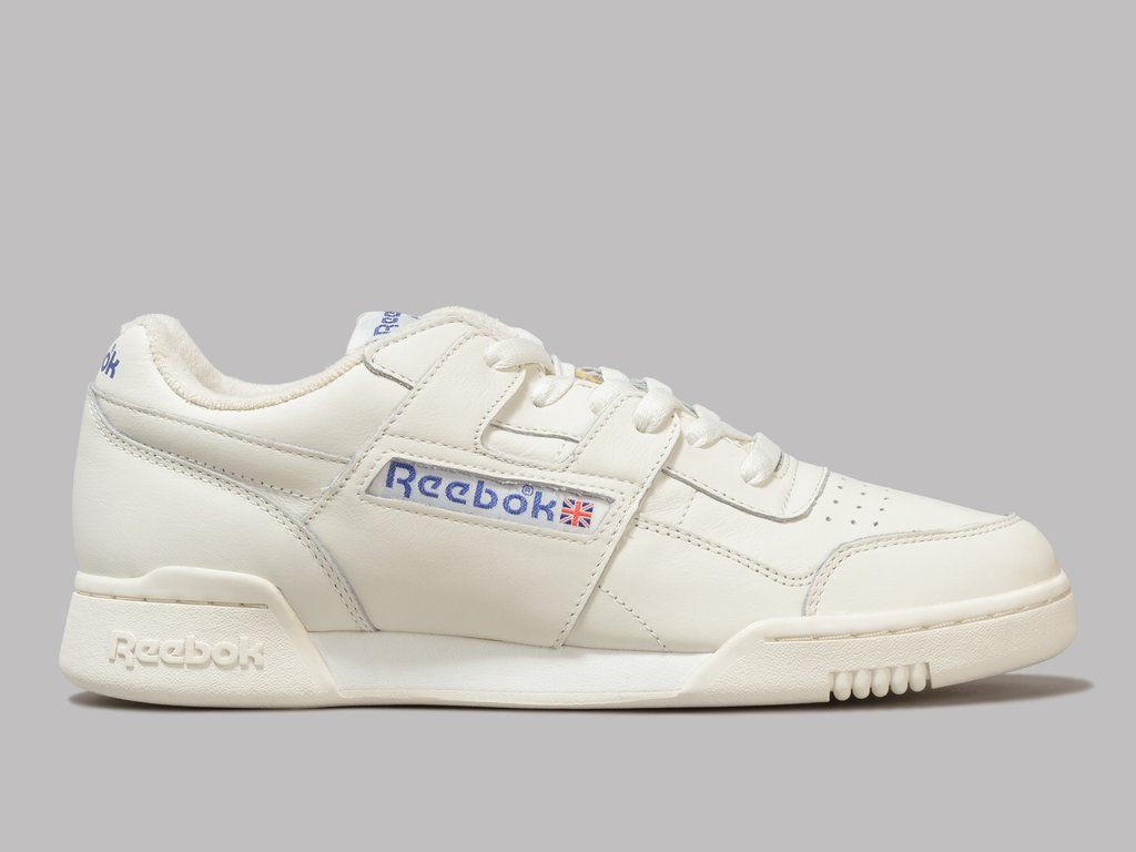 Supplier Trainers Reebok Workout Plus Canvas Beige White His trainers