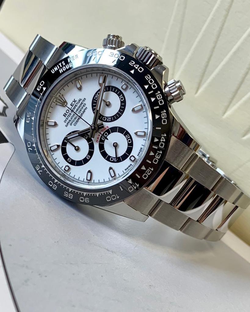 Rolex Daytona Stainless Steel Ceramic White Dial 116500