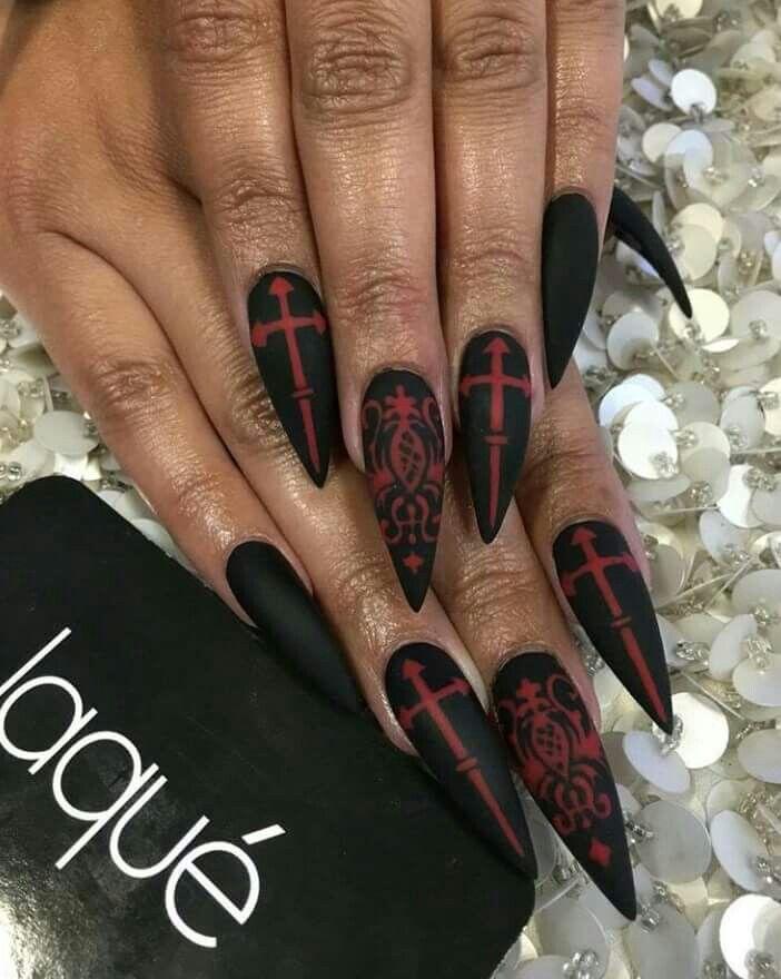 Pin by Keyy Phea on Nails I LOVE | Halloween acrylic nails ...