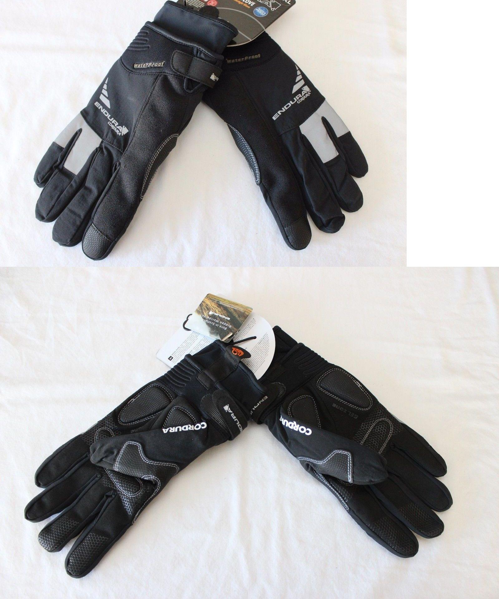 Gloves new endura deluge winter gloves full finger bike