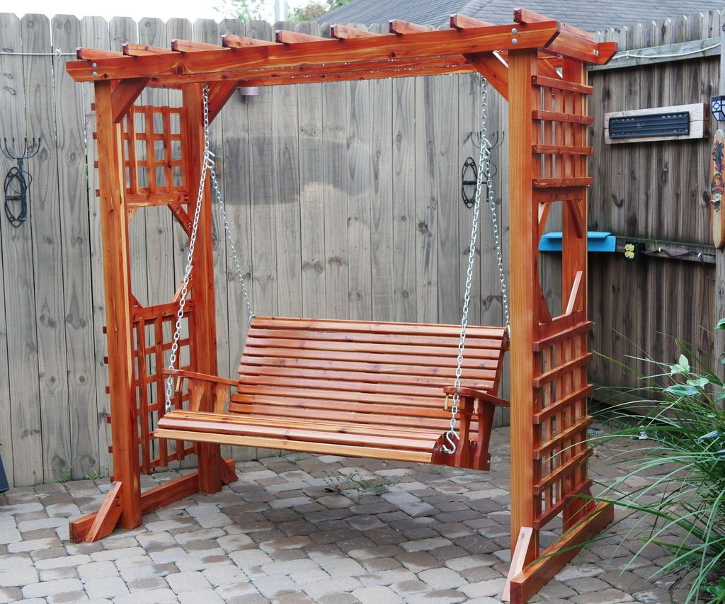 Diy swing with arbor in 2020 diy swing build outdoor