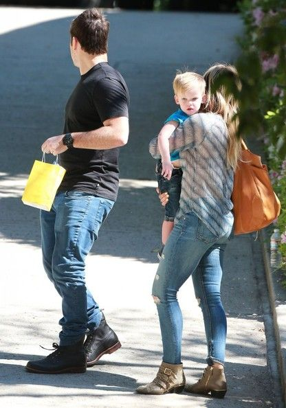 Hilary Duff - Hilary Duff & Family At A Birthday Party In Beverly Hills