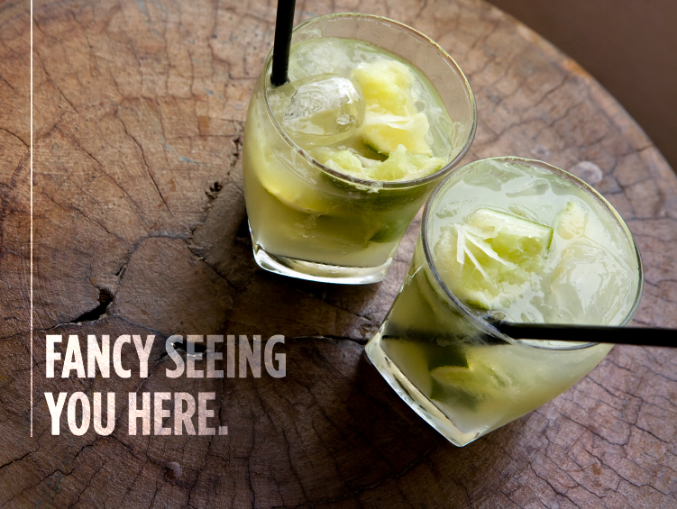 Fancy seeing you here.  #tequila #cocktails #summer #fun