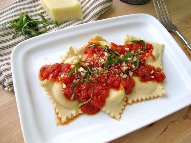 Jenny Steffens Hobick: Easy Homemade Ravioli Recipe | Ricotta Cheese Ravioli Recipe