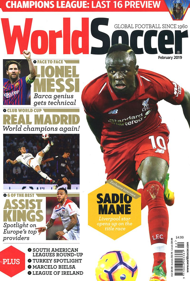 World Soccer February 2019 With Images Soccer