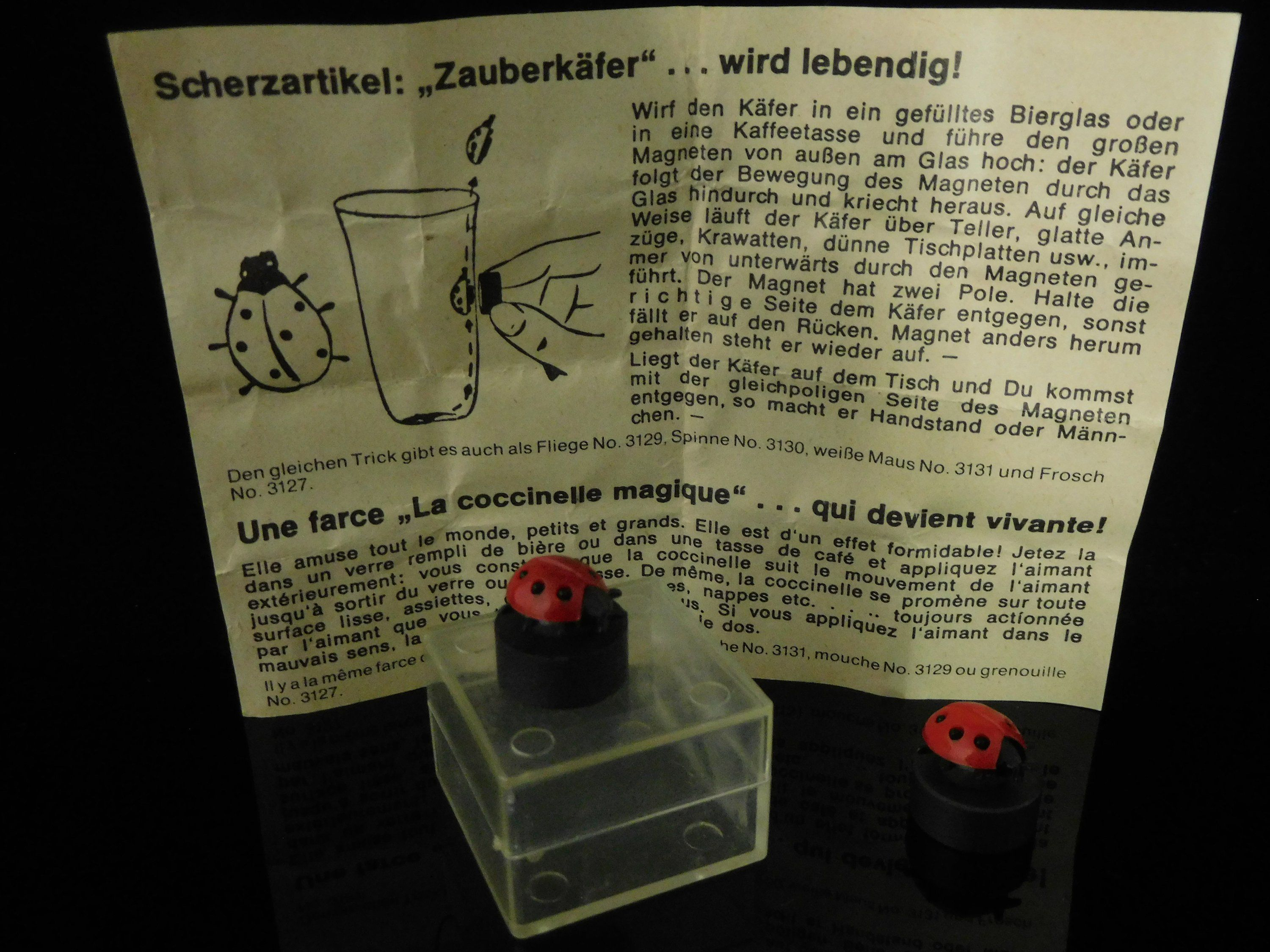 Table Game Collectible Rare Mini Game Magnet Toys Joke Article