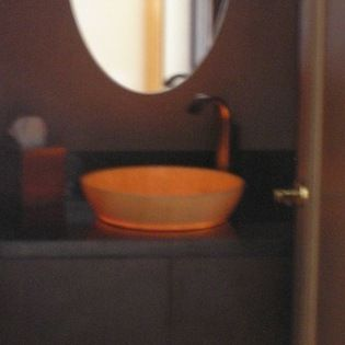 Powder Room Onyx Contemporary Powder Room Denver Gary - Kitchens at the denver