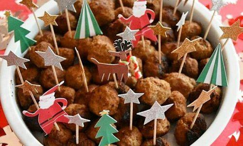 Antipasti Per Natale Di Carne.Polpettine Di Carne Speziate Ricetta Antipasto Di Natale Salato