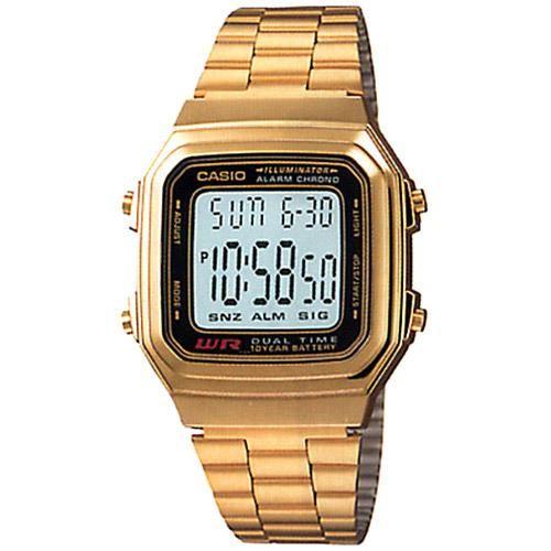 1930d965123 Relógio Masculino Casio Digital Vintage A178WGA-1ADF