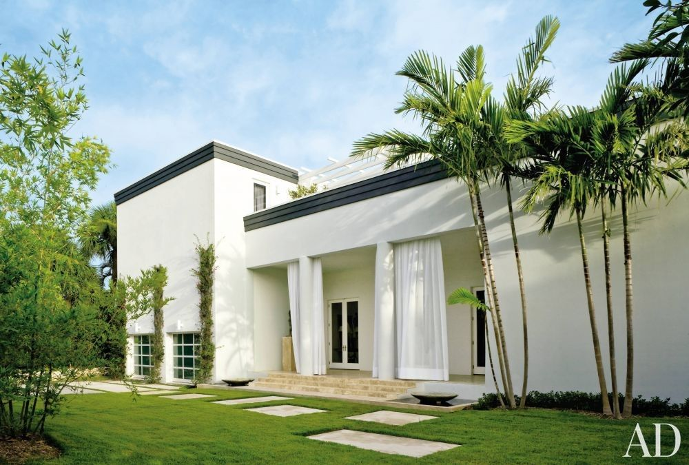 Modern Exterior By Allan Reyes Interiors In West Palm Beach Florida - Contemporary-west-palm-beach-property