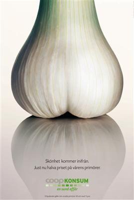 Coop Konsum fresh produce   Designed by Swedish ad agency Lowe Brindfors