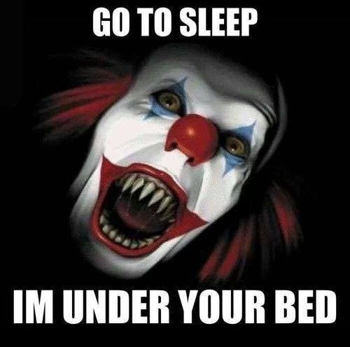 b2545afb44fcdd1bdb5eee08ea87b1cb funny meme about clowns funny memes pinterest meme, horror