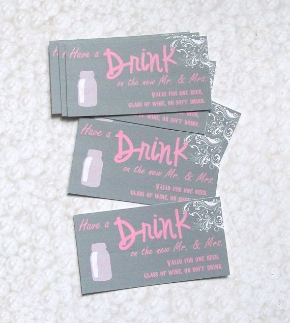 Love These Drink Tickets Etsy Listing At Http Www
