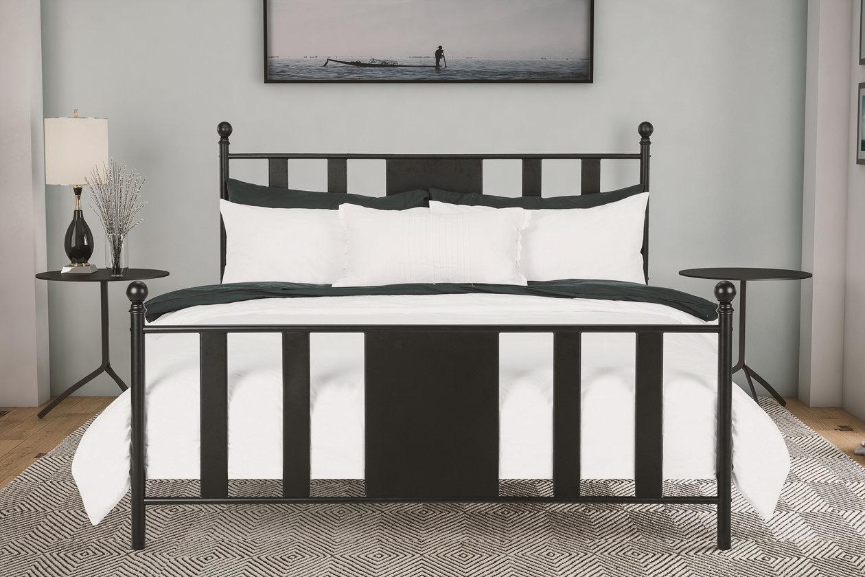 Scarlette Queen Metal Bed Ashley Furniture Homestore Metal