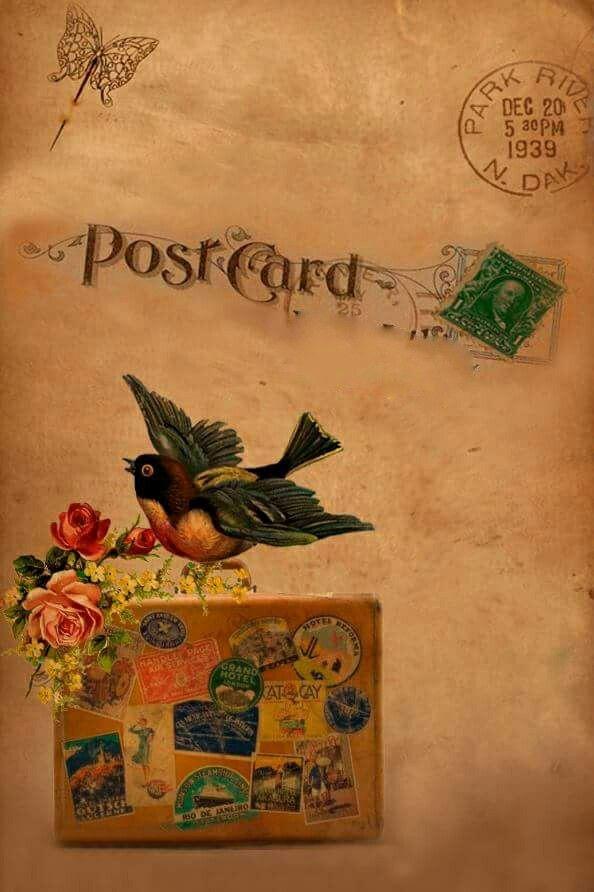 Épinglé par Yvonne Pieters sur Carte postale | Carte postale, Postale, Carte