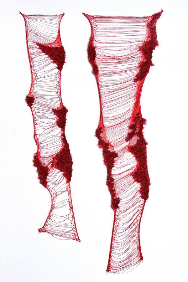 Ethereal Textile Designs by Moriel Dezaldeti #textiledesign