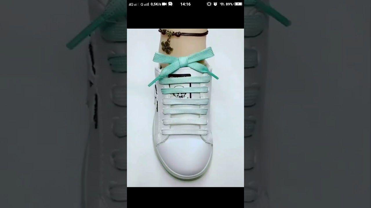 Cara Mengikat Tali Sepatu Keren Sepatu Tali