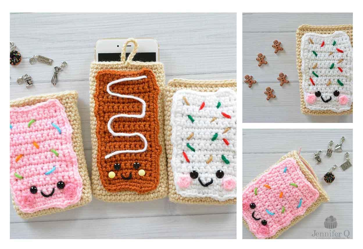 Crochet Pop Tarts | Cozy Crochet | Pinterest | Croché, Fundas and ...