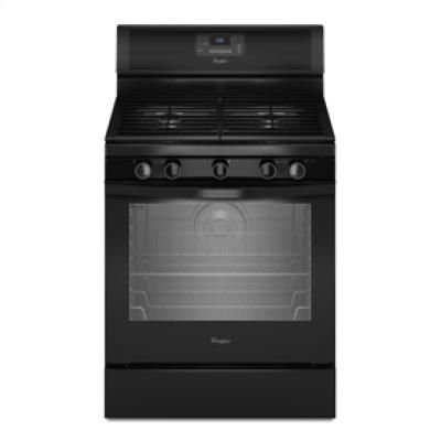 Click Image Above To Buy: R) 5.8 Cu. Ft. Capacity Gas Range With Aqualift(tm) Self-clean Technology