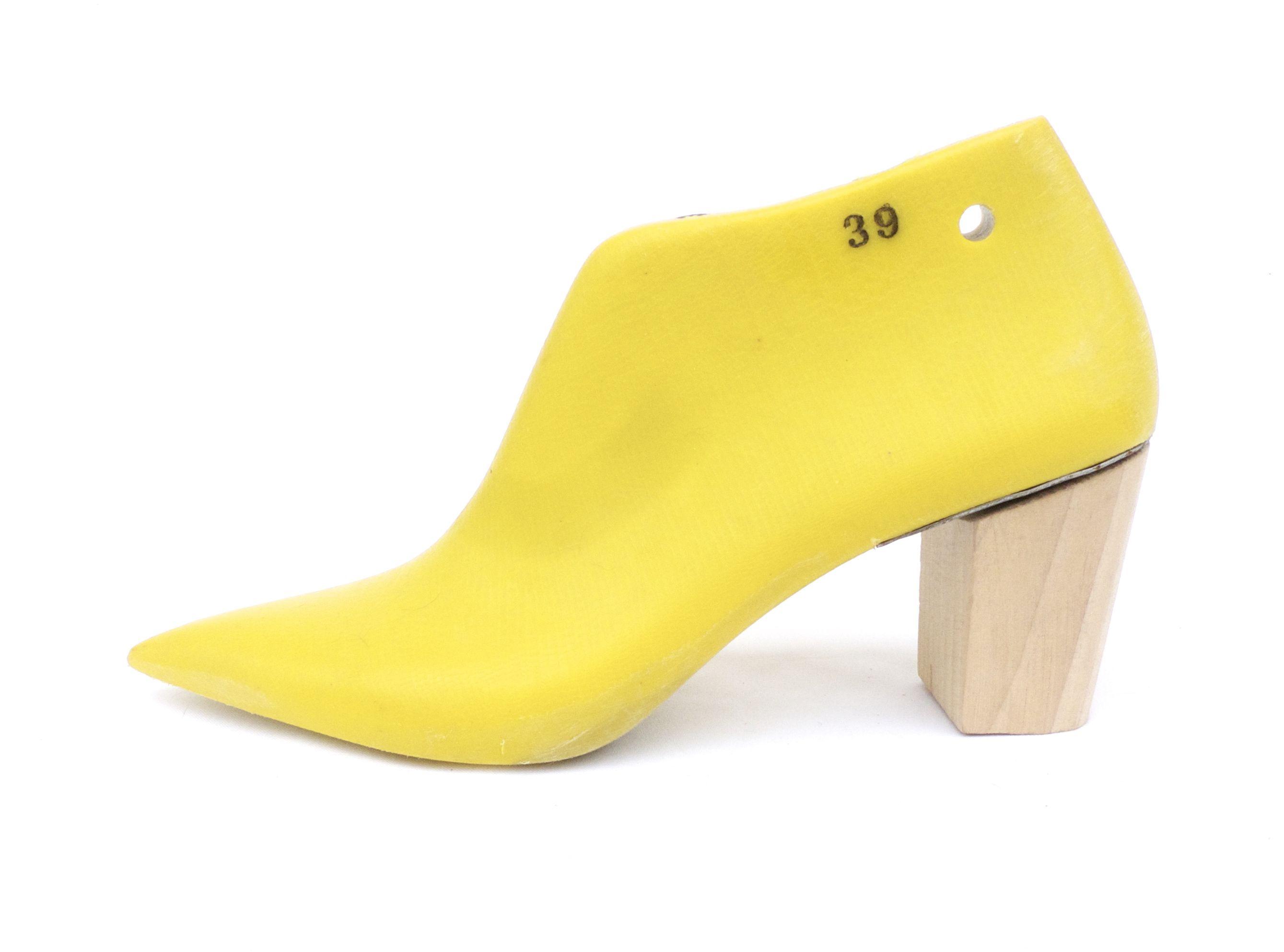 Pointed toe elegant shoe last for women footwear