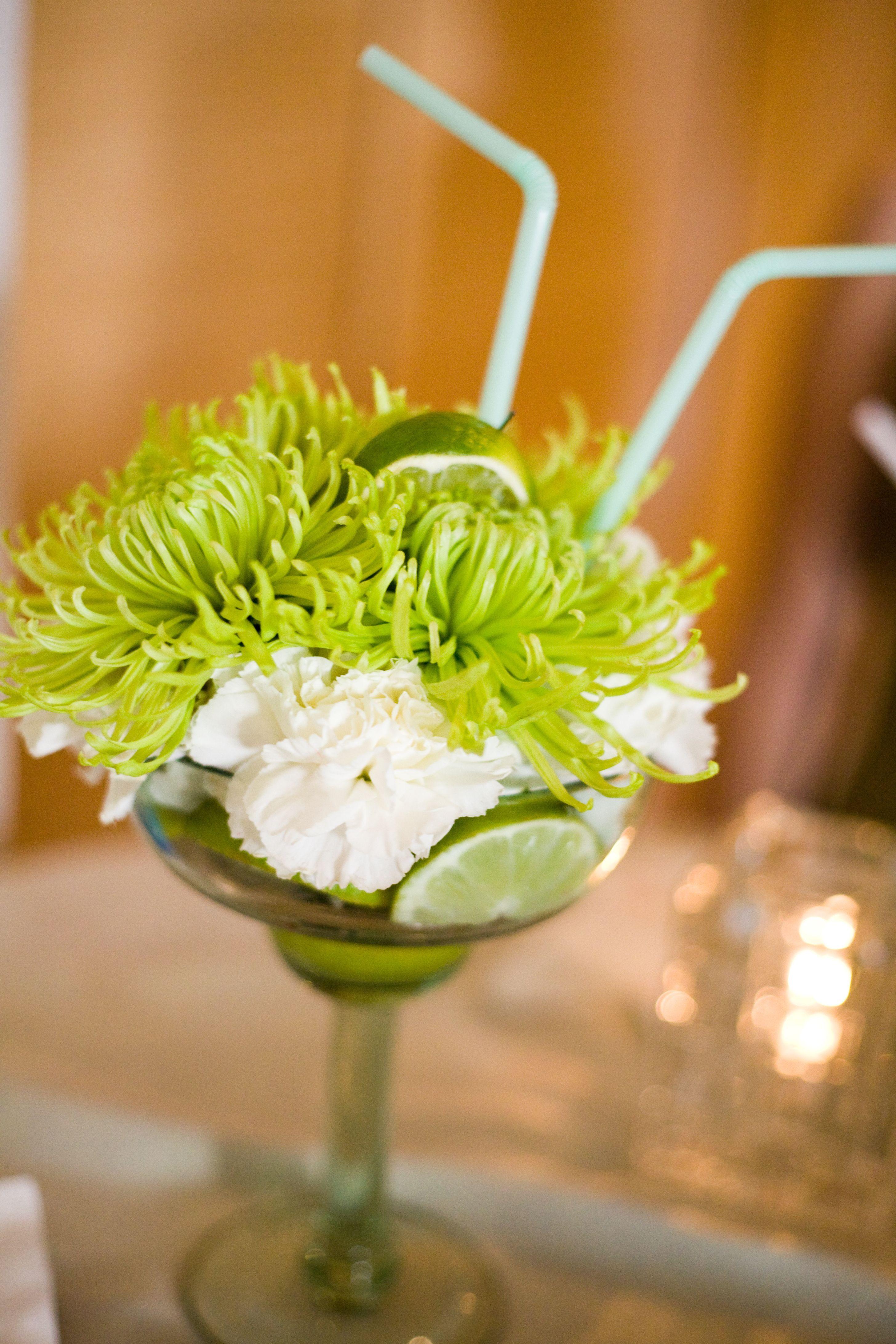 Margarita Flower Arrangements - made these as a ...