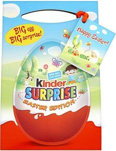 Kinder Surprise - More Milk Less Cocoa
