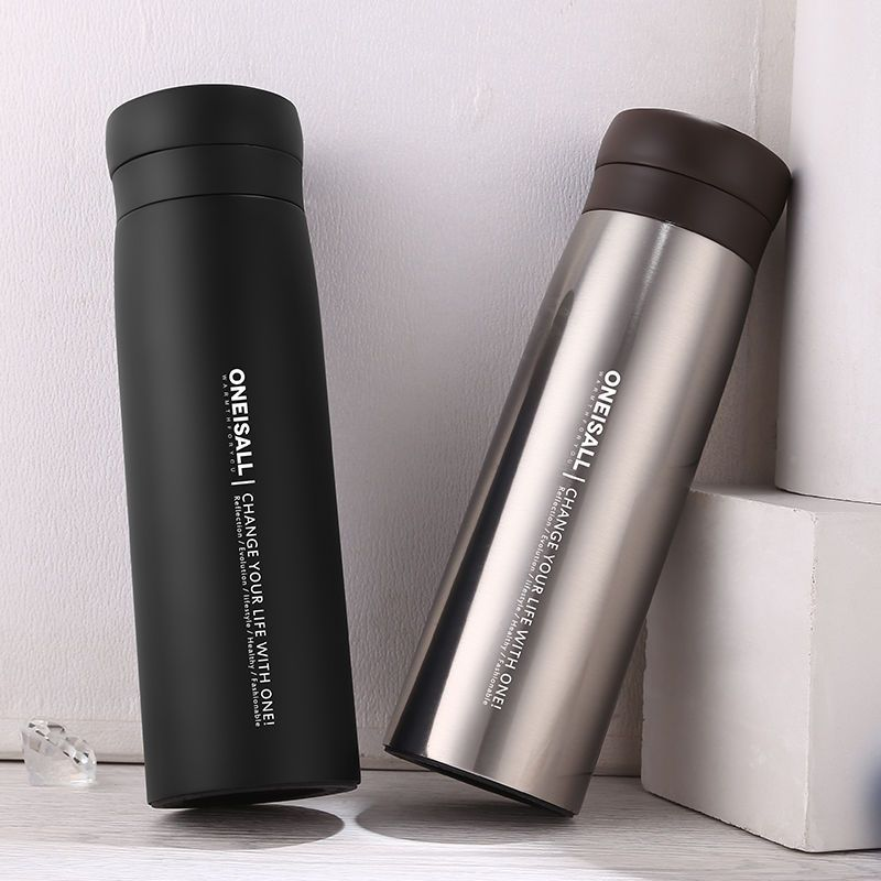 Insulated Flask Oneisall Tea Thermos Bottle Steel Stainless Vacuum bv7g6IYfy
