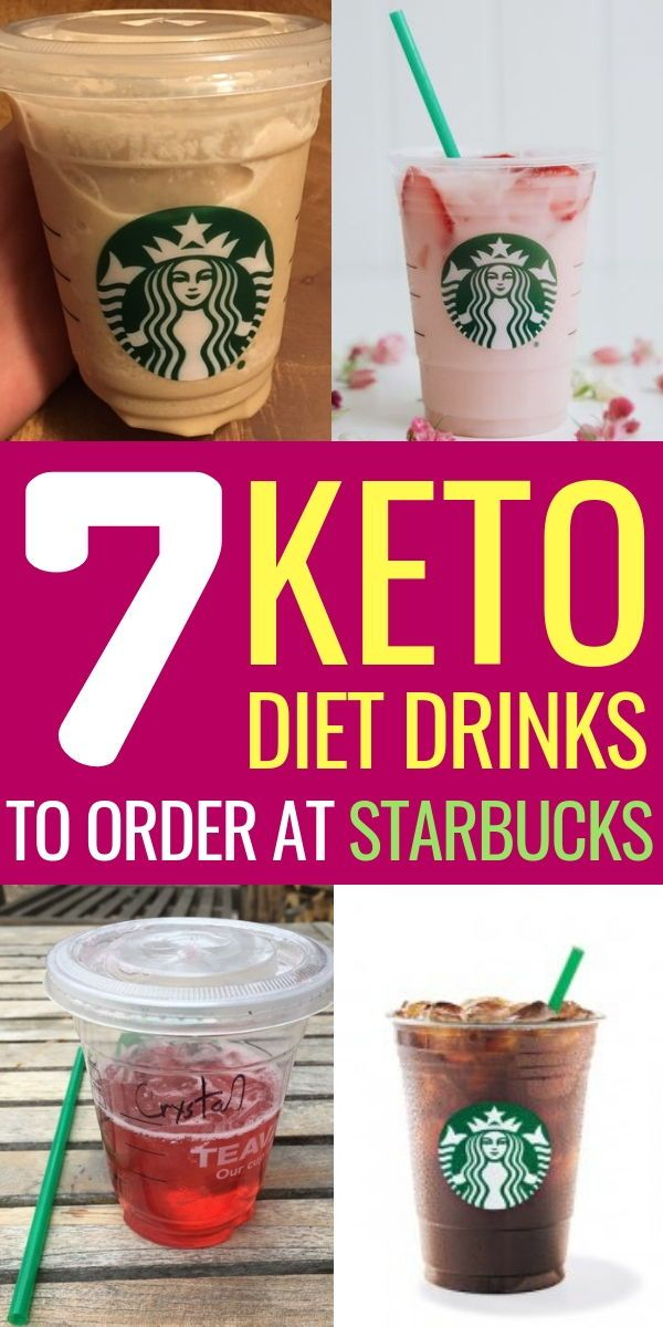 7 Keto Starbucks Drinks to Stay in Ketosis #ketofrappucinostarbucks