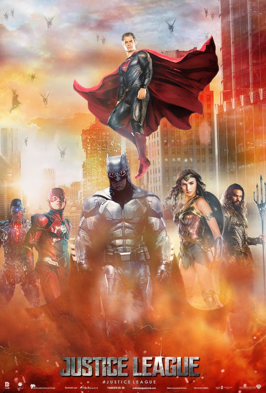 "Justice League Movie Poster ""They have never faced us"
