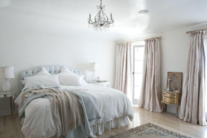 shabby chic kommode romantisches schlafzimmer altgold anrichte