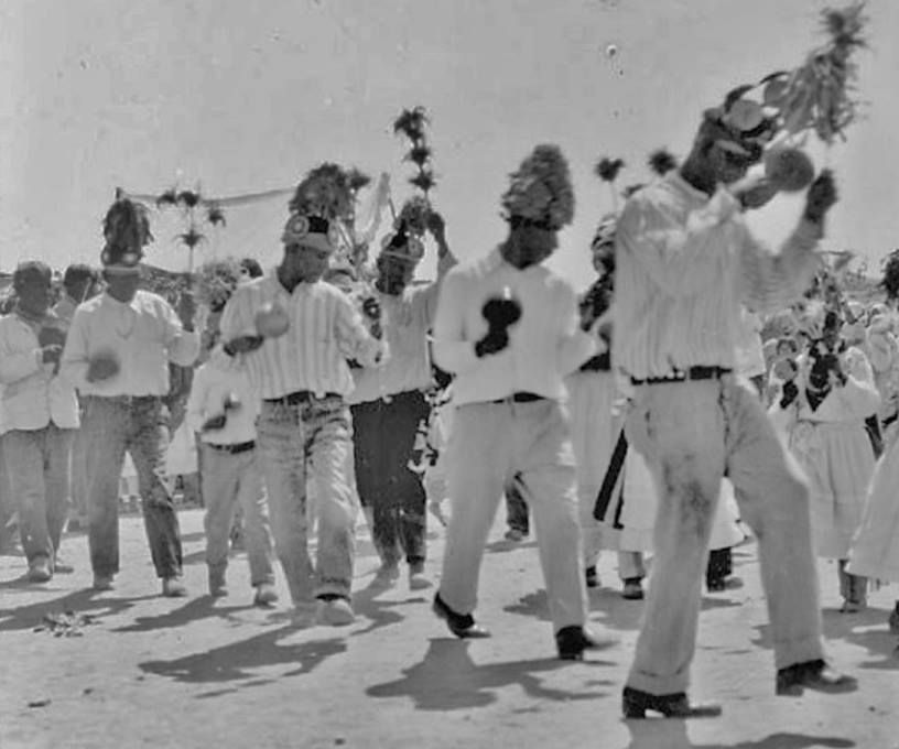 Yaqui Dancers - Circa 1930