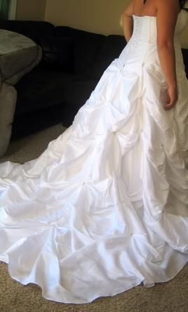 d795770c98a David s Bridal 9T9017 18  buy this dress for a fraction of the salon price  on PreOwnedWeddingDresses.com