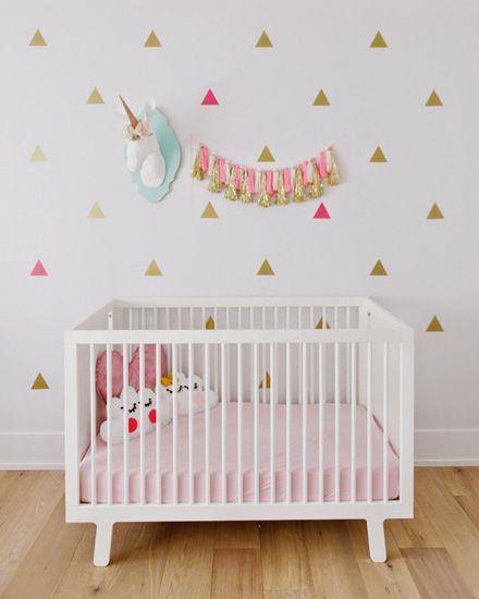 Une déco de chambre en rose et or Babies, Nursery and Kids s