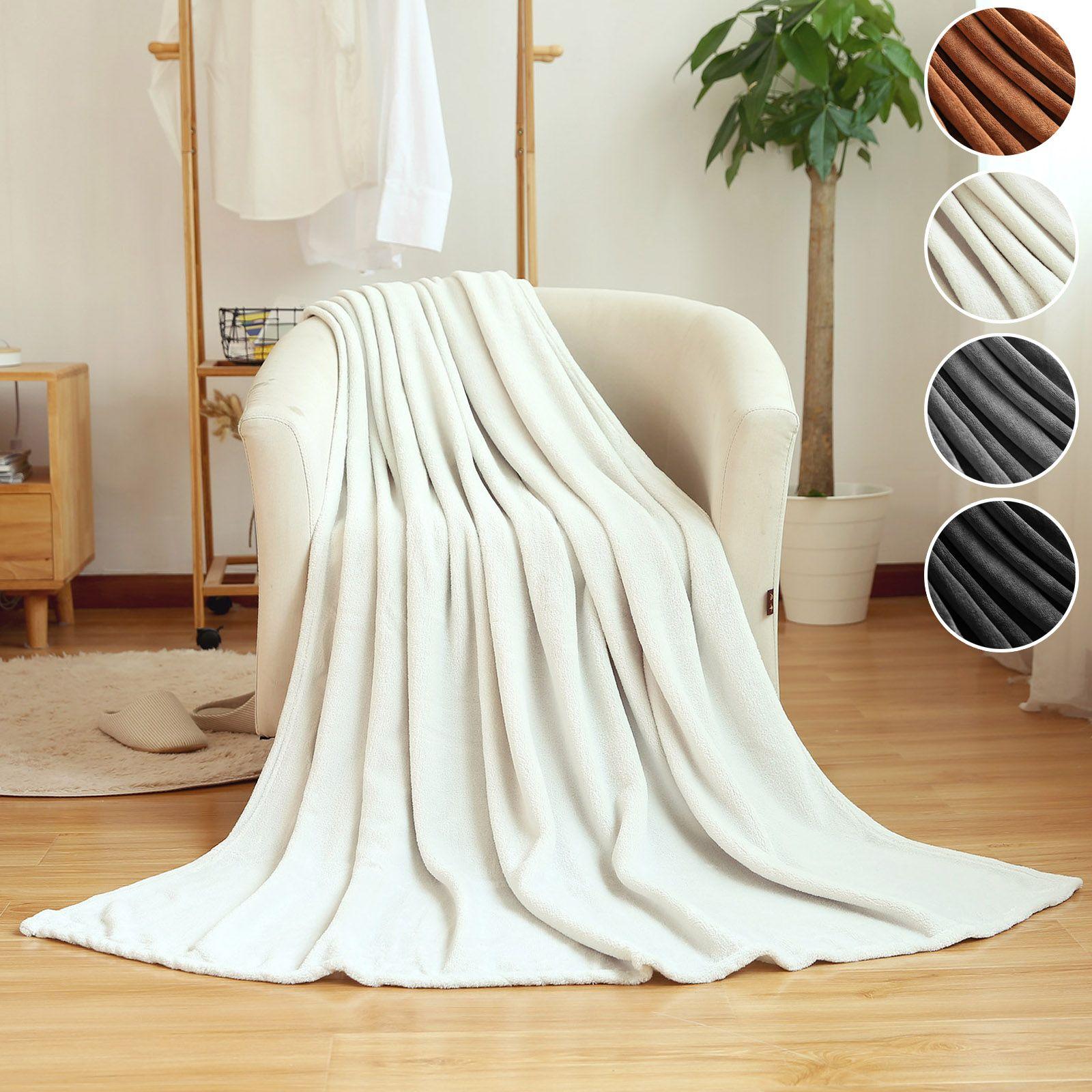 Woltu Kuscheldecke Wohndecke Tv Decke Tagesdecke Sofadecke Bettdecke Microfaserddecke Flanelle Fleece Decke Xl 150x200 Cm 220x240 Cm Blanket Throw Blanket Bed