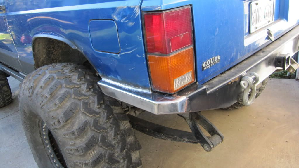 91 Xj Rear Bumper Build Help Pirate4x4 Com 4x4 And Off Road Forum Jeep Xj Jeep Xj Mods Custom Jeep