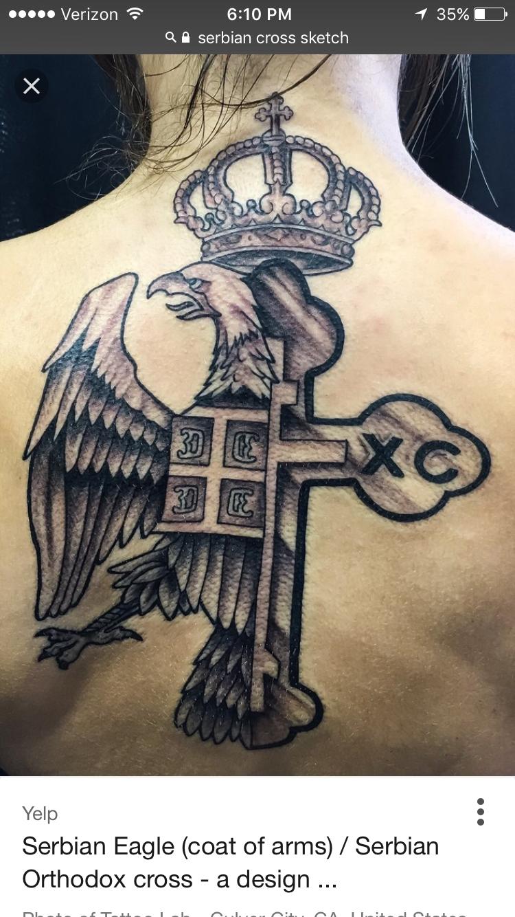 Serbian Tattoo Criminal Tattoo Religous Tattoo Tattoos